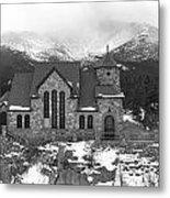 Chapel On The Rock - 5 Metal Print