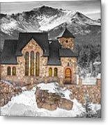 Chapel On The Rock Bwsc Metal Print