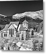 Chapel On The Rock Metal Print