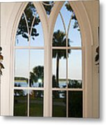 Chapel Palmetto Bluff Sc Metal Print