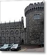 Chapel Royal And Record Tower - Dublin Castle Metal Print