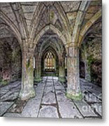 Chapter House Interior Metal Print