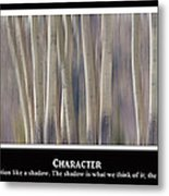 Character Metal Print