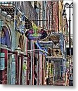 Characteristics Of New Orleans  V2 Metal Print