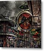 Characteristics Of New Orleans V5 Metal Print