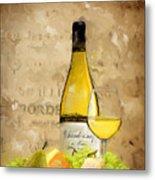 Chardonnay Iv Metal Print