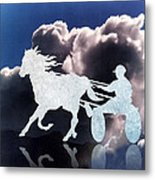Chariots Of Fire Metal Print by Patricia Howitt