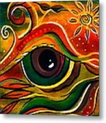 Charismatic Spirit Eye Metal Print