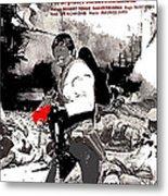 Charles Bronson Plays The Murderous Rodolfo Fierro In Viva  Rides 1968-2013 Metal Print