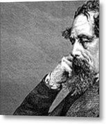Charles Dickens Metal Print