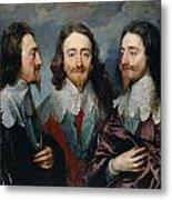 Charles I Metal Print