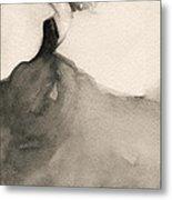 Charles James Swan Gown - Fashion Illustration Art Print Metal Print