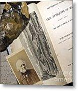 Charles Lyells Antiquity Of Man 1863 Metal Print by Paul D Stewart