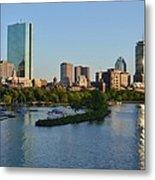 Charles River Reflection Metal Print