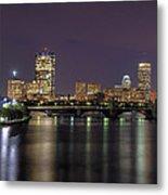 Charles River Reflections - Boston Metal Print by Joann Vitali