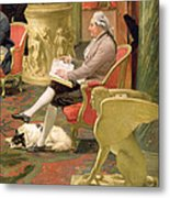 Charles Townley And His Friends Metal Print