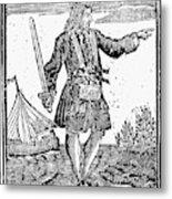 Charles Vane (c1680-1720) Metal Print