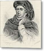 Charles Vi Of France Also Known As 'le Metal Print