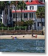Charleston Beach Metal Print