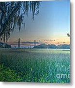 Charleston Bridge View Metal Print