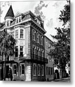 Charleston Corner Charleston Sc Metal Print