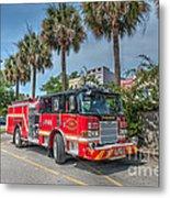 Charleston Fire Dept  Metal Print