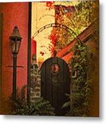 Charleston Garden Entrance Metal Print