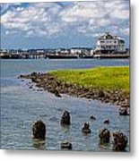 Charleston Harbor Metal Print
