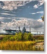 Charleston Marsh View Metal Print