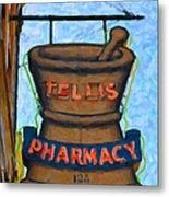 Charleston Pharmacy Metal Print