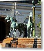 Charleston Place Metal Print by Karen Wiles