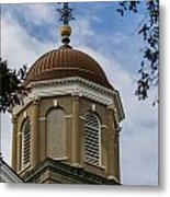 Charleston Round Dome Metal Print