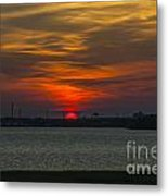 Charleston Sc Sunset Metal Print