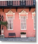 Charleston South Carolina - The Mills House - Art Deco Architecture Metal Print