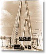Charleston's Arthur Ravenel Jr. Bridge Metal Print