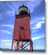 Charlevoix Lighthouse Metal Print