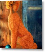 Charlie And His Ball Metal Print