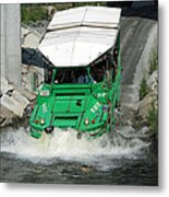 Charlie River Splash Down Metal Print