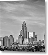 Charlotte Chrome Metal Print by Brian Young