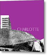 Charlotte Nascar Hall Of Fame - Plum North Carolina Metal Print
