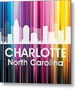 Charlotte Nc 2 Metal Print