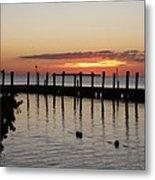 Charming Eveninglight Over Key Largo Metal Print