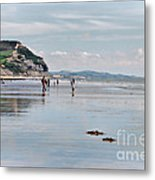 Charmouth Beach 2 Metal Print