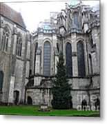 Chartres Cathedral Metal Print