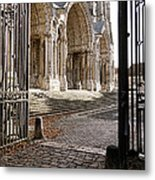 Chartres Cathedral North Transept Metal Print