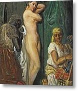 Chasseriau, Th�odore 1819-1856. The Metal Print by Everett
