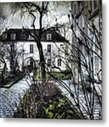 Chat Noir Gallery Paris France Metal Print