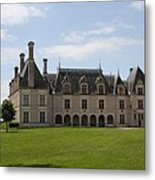 Chateau Beauregard Loire Valley Metal Print