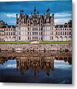 Chateau Chambord Metal Print