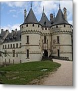Chateau Chaumont Steeples Metal Print